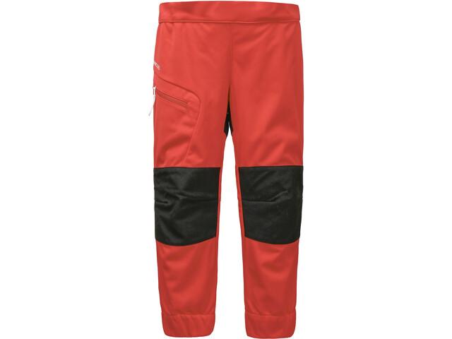 DIDRIKSONS Lövet 2 Pants Kids, poppy red